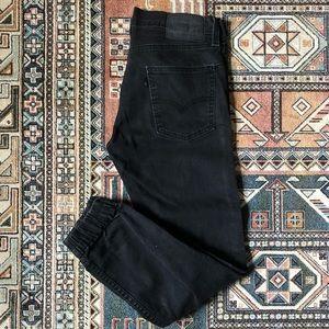 Levi's 513 Elastic Cuff Cropped Jeans